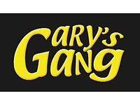 Help when you need it, Gary's Gang Handymen. Any help you want, we got it!