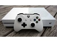 Xbox one s with 3 top games including WW2