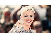 Katy Perry Tickets x 2 @£75 each Liverpool