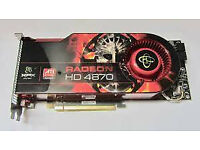 XFX Radeon HD 4870 1GB DDR5 PCI-E Dual DVI TV-Out Graphics Card GPU