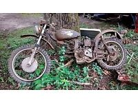 MOTORBIKES WANTED VINTAGE CLASSIC SPARES REPAIR PROJECTS TRIKES DAMAGED NON RUNNER