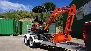 4U Services 1.7 Ton Hitachi Excavator For Hire $220 Per/Day Clayton Monash Area Preview