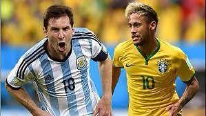 Brazil vs Argentina 2x Gold tickets great seats on halfway. Thornton Maitland Area Preview