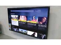 LG 32LN540V 32 Inch Freeview LED TV bracket internet not smart wifi