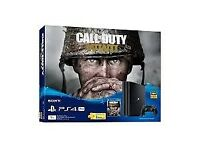 Brand New Playstaion 4, 500GB With COD WW2