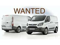 #### WANTED ###Transit custom ### WANTED ### please call with info