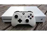 Xbox One S 500GB with box + Controller and 6 games Open to offers
