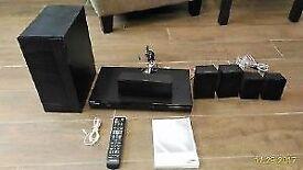 Samsung 3D BluRay Player 5.1 Home Cinema System + Amp