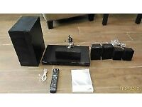 Samsung 3D BluRay Player 5.1 Home Cinema System + Amp