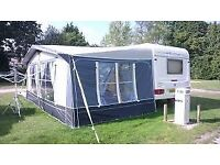 Ventura pacific 300 caravan awning size850cm frame 14-16