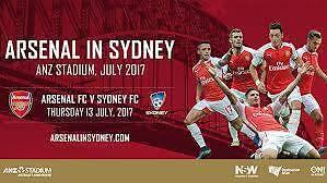 3x Arsenal FC V Sydney FC Haberfield Ashfield Area Preview