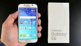 Like new use condition Samsung galaxy S6 32gb factory Unlock to all networks boxed