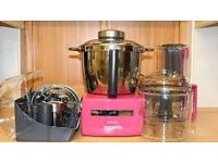 Magimix le patissier multifunction - pink ex demo