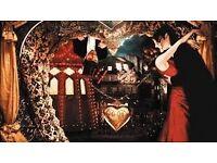 2 x Moulin Rouge Secret Cinema. Thur 27 April. (SOLD OUT!)