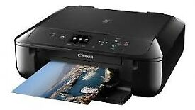 NEW CANON MG5750 ALL IN ONE WIRELESS PRINTER + CANON INK + COMPATIBLE INK SMART PRINT 12 MTHS WRNTY