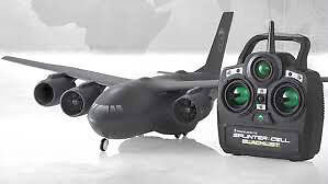 Avion téléguidé Splinter cell airplane