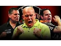 CHAMPIONS LEAGUE OF DARTS TICKETS THIS WEEKEND BRIGHTON SATURDAY AND SUNDAY NIGHT TABLE SEATS