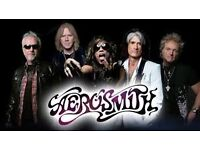 2x Aerosmith Standing Tickets