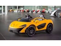 Children's ride-on McLaren P1, electric vehicle