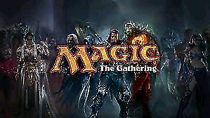 Looking for magic the gathering cards.