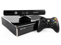 XbBox 360 with Kinect Sensor