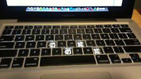 WE FIX KEYBOARD MACBOOK AND LAPTOPS
