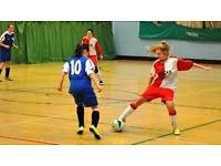 Ladies women's football 5 a-side football