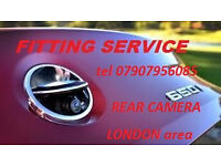 mobile CAR VAN REVERSE REAR CAMERA FITTING SPECIALIST Fitter install connection in LONDON area