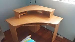Officeworks corner desk Mosman Mosman Area Preview