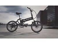Mate folding electric bike