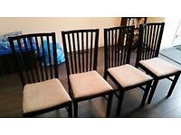 IKEA Bargain Chair Clearance Furniture NORRNAS Oak brown/kungsvik sand - Smoke & Pet FREE Home