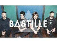 Bastille O2 Arena London 02/11/16 x2 Tickets