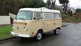 ***REDUCED*** Splendid VW T2 Westfalen 70s Camper for sale - LHD