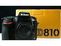 Nikon D810 Body Only Brand New