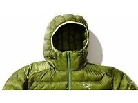 Down jackets sz xl new tagged Arcteryx plus more xl Arcteryx