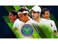 Wimbledon, Mens Semi Final Tickets, 2018 - (Pair) 2 in total