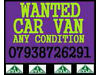 Wanted your Car or Van Grays