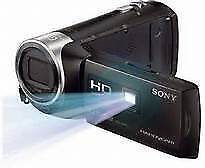 Sony camcorder (with projector) hdr-pj410 **brand new