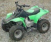 Kazuma meerkat 50cc semi auto quad