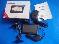 Binatone sat nav navigation complete boxed with manuals