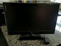 Alba 19 Inch HD DVD LCD TV, Freeview, New Remote FULLY WORKING. (No offers)