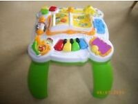 fisherprice laugh n learn activity table