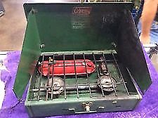 Two Coleman Camp Stoves