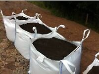 Topsoil large tonne bag