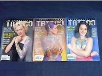 29 Assorted Tattoo, Piercing and Skin Art Magazines
