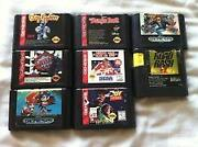 Sega Genesis Game Lot