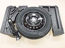 "Genuine NISSAN Qashqai 16"" Spare Wheel Kit, Foams, Jack, Brace & Tyre Complete"