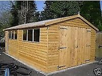 NEW SHED/WOODEN TIMBER GARAGE