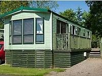 Beautifully located 2 bedroom Holiday Caravan to Rent with views over the forth and open countryside