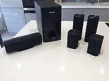Samsung 5.1 DVD Surround system with wireless rear speakers
